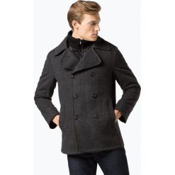 Finshley & Harding - Kurtka męska, szary. Czarne kurtki męskie pikowane marki Finshley & Harding, w kratkę. Za 499,95 zł.