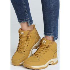 Camelowe Buty Trekkingowe Predictable. Brązowe buty zimowe damskie marki NEWFEEL, z gumy. Za 129,99 zł.
