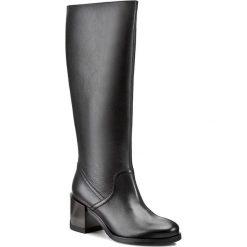 Kozaki GINO ROSSI - Andria DKG664-L46-GD00-9900-0 99. Czarne buty zimowe damskie marki Gino Rossi, z materiału, na obcasie. W wyprzedaży za 399,00 zł.