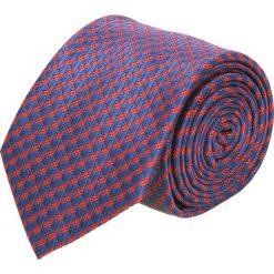 Krawaty męskie: krawat platinum granatowy classic 265
