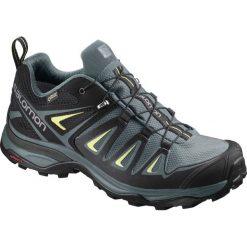 Buty trekkingowe damskie: Salomon Buty damskie X Ultra 3 GTX W Artic/Darkest Spruce/Sunny Lime r. 39 1/3 (400065)