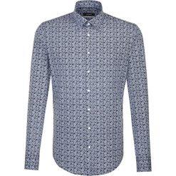 Koszule męskie na spinki: Koszula – X-Slim – w kolorze niebieskim