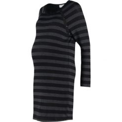 Sukienki dzianinowe: Envie de Fraise TASTY Sukienka dzianinowa black/antracite