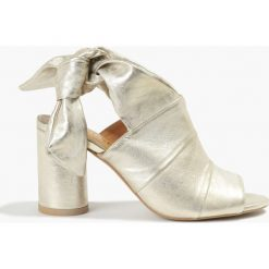Rzymianki damskie: Sandały Gulietta złote