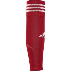 Skarpetogetry piłkarskie: Adidas Getry piłkarskie Team Sleeve 18 czerwone r. 34-36 (CV7523)