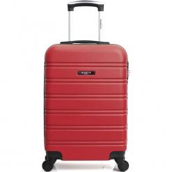 """Walizka """"Bilbao"""" w kolorze bordowym - 35 x 48 x 21 cm. Czerwone walizki Hero & BlueStar, z materiału. W wyprzedaży za 108,95 zł."""