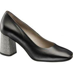 Buty ślubne damskie: czółenka damskie 5th Avenue czarne