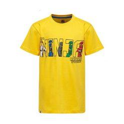 """T-shirty chłopięce z nadrukiem: Koszulka """"M-72165"""" w kolorze żółtym"""