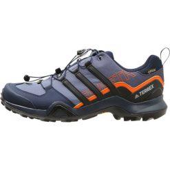 Adidas Performance TERREX SWIFT R2 GTX Obuwie do biegania Szlak raw steel/core black/orange. Niebieskie buty do biegania męskie adidas Performance, z materiału. W wyprzedaży za 584,10 zł.