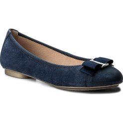 Baleriny HISPANITAS - Capri HV86837 Jeans. Niebieskie baleriny damskie lakierowane Hispanitas, z jeansu. W wyprzedaży za 259,00 zł.