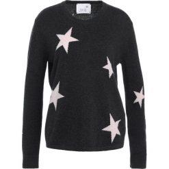 Juvia STAR Sweter anthracite melange. Szare swetry klasyczne damskie Juvia, s, z kaszmiru. W wyprzedaży za 377,55 zł.