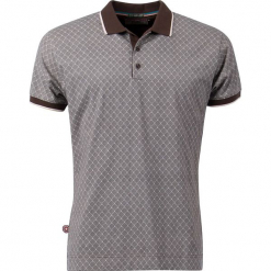 """Koszulka polo """"Soul Strut"""" w kolorze brązowym. Niebieskie koszulki polo marki GALVANNI, l, z okrągłym kołnierzem. W wyprzedaży za 131,95 zł."""
