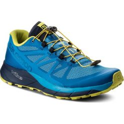 Buty do biegania męskie: Buty SALOMON - Sense Ride 402378 30 V0 Snorkel Blue/Indigo Bunting/Sulphur Spring