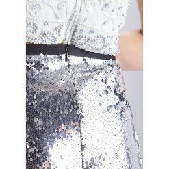 Minispódniczki: Topshop Spódnica mini silver