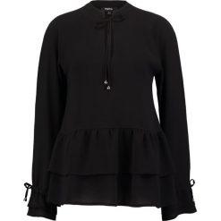 Bluzki asymetryczne: Tigha LARI Bluzka black