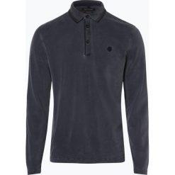 Marc O'Polo - Męska koszulka polo, niebieski. Niebieskie koszulki polo Marc O'Polo, l, z bawełny. Za 229,95 zł.