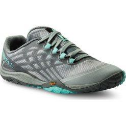 Buty MERRELL - Trail Glove 4 J09662 High Rise. Szare buty do biegania damskie marki Merrell, z materiału. W wyprzedaży za 269,00 zł.