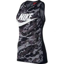 Nike Koszulka damska W NSW Tank RCK GRDN czarna r. XS (848465 010-S). Czarne topy sportowe damskie marki Nike, xs, z bawełny. Za 128,60 zł.
