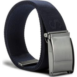 Pasek Męski JOOP! - JEANS 7613 100 Blue A04. Niebieskie paski męskie JOOP!, w paski, z jeansu. W wyprzedaży za 179,00 zł.