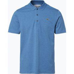 Lacoste - Męska koszulka polo, niebieski. Niebieskie koszulki polo Lacoste, l, z bawełny, z krótkim rękawem. Za 249,95 zł.