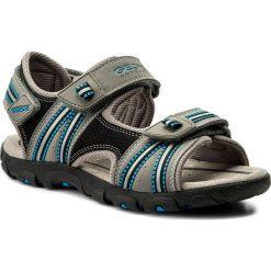 Sandały GEOX - J S.Strada A J4224A 0CE14 C0415 D Grey/Lt Blue. Szare sandały męskie skórzane marki Geox. Za 309,00 zł.