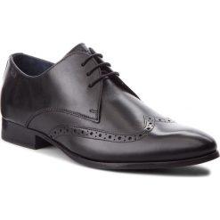 Półbuty JOOP! - Paxos 4140003610 Black 900. Czarne buty wizytowe męskie JOOP!, z materiału. W wyprzedaży za 419,00 zł.