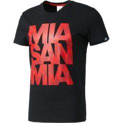 Adidas Koszulka męska FC Bayern GR Tee Bet czarna r. XXL (AZ5320). Czarne koszulki sportowe męskie marki Adidas, do piłki nożnej. Za 101,21 zł.