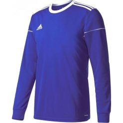Adidas Koszulka piłkarska męska Squadra 17 Long Sleeve niebieska-czarna r. L (S99150). Czarne t-shirty męskie Adidas, l, do piłki nożnej. Za 70,91 zł.