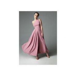 SUKIENKA ERIN WILD - DIRTY PINK. Szare sukienki asymetryczne marki Mohito, l, z asymetrycznym kołnierzem. Za 339,00 zł.