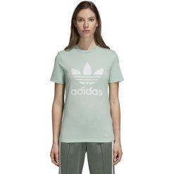 Koszulka adidas Trefoil (DH3176). Szare bluzki damskie Adidas, z bawełny, z krótkim rękawem. Za 129,99 zł.