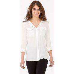 Bluzki damskie: Wizytowa bluzka koszulowa