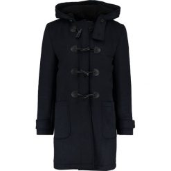 Topman Płaszcz wełniany /Płaszcz klasyczny dark blue. Niebieskie płaszcze na zamek męskie Topman, m, z materiału, klasyczne. Za 509,00 zł.