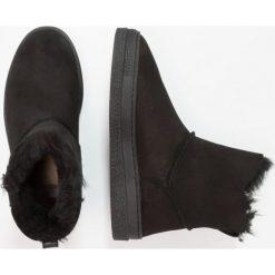 GANT MARIA Botki black. Czarne botki damskie marki GANT, z futra. W wyprzedaży za 631,20 zł.