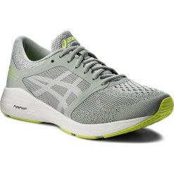 Buty ASICS - RoadHawk FF T7D2N Mid Grey/White/Safety Yellow 9601. Szare buty do biegania męskie Asics, z materiału. W wyprzedaży za 319,00 zł.