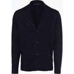 Drykorn - Kardigan męski – Vale, niebieski. Niebieskie swetry rozpinane męskie DRYKORN, l, z wełny, eleganckie. Za 699,95 zł.