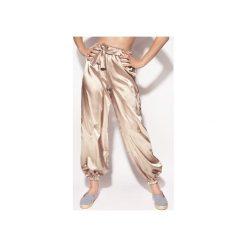 Spodnie dresowe damskie: Spodnie Sporty złote