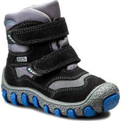 Buty zimowe chłopięce: Śniegowce BARTEK – 91762-J26 Czarno/Szary