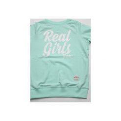 Bluzy damskie: BLUZA Real Girls Team/MINT
