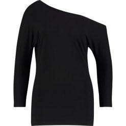 Bluzki asymetryczne: Baukjen CONNIE  Bluzka z długim rękawem caviar black