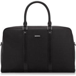 Torba podróżna 87-3U-203-1. Czarne torby na laptopa Wittchen, w paski. Za 699,00 zł.