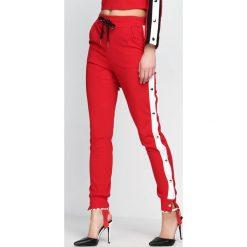 Spodnie dresowe damskie: Czerwone Spodnie Dresowe Nowadays