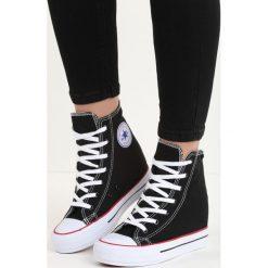 Czarne Sneakersy Bjorn. Czarne sneakersy damskie Born2be, z bawełny. Za 39,99 zł.