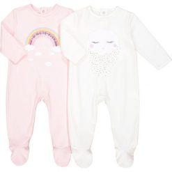 Odzież dziecięca: Zestaw 2 bawełnianych piżam 0 miesięcy – 3 lata