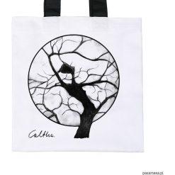 Drzewo - torba premium (kolory). Białe shopper bag damskie marki Pakamera, z materiału. Za 79,00 zł.