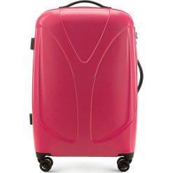 Walizka średnia 56-3P-952-31. Różowe walizki Wittchen, z gumy, średnie. Za 319,00 zł.