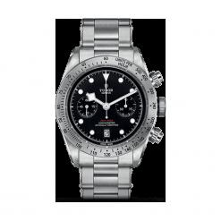 ZEGAREK TUDOR Heritage Black Bay Chrono 79350 72060 BLACK IND W. Czarne zegarki męskie TUDOR, szklane. Za 20890,00 zł.