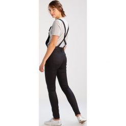 Kombinezony damskie: GStar 3301 US HW 3D SKINNY OVERALL S/LESS Kombinezon distro black superstretch