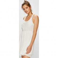 Fresh Made - Sukienka. Szare sukienki mini marki Fresh Made, na co dzień, l, z materiału, casualowe, z okrągłym kołnierzem, rozkloszowane. Za 69,90 zł.