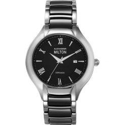 """Zegarki męskie: Zegarek kwarcowy """"Samos"""" w kolorze czarno-srebrnym"""