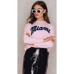 Bluzy rozpinane damskie: Moves Bluza Jalie Miami - Pink